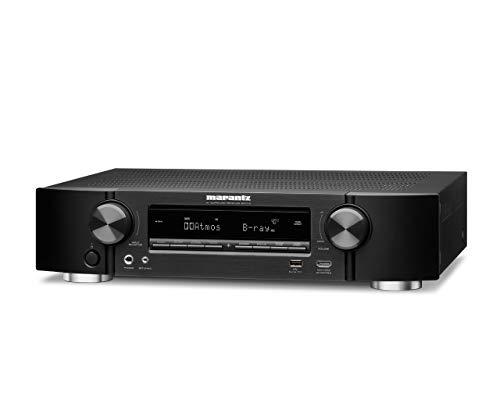 Marantz NR1710 kompakter 7.2-Kanal AV-Receiver (WiFi, Bluetooth, HDCP2.3, 4K, HEOS, AirPlay 2, Alexa kompatibel) schwarz - 7-kanal-verstärker Heimkino