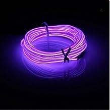 MASUNN 3 M El LED Flexible Suave Tubo De Neón Resplandor Coche Cuerda Franja Luz Navidad