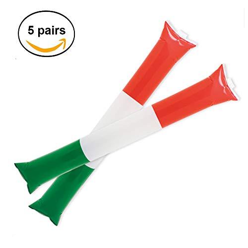 Fun fan line Pack de 5 Pares de aplaudidores diseño Italia