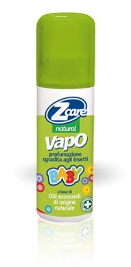 Spray Repellente Antizanzara Naturale Per Bambini Z Care Natural Baby 100 Ml