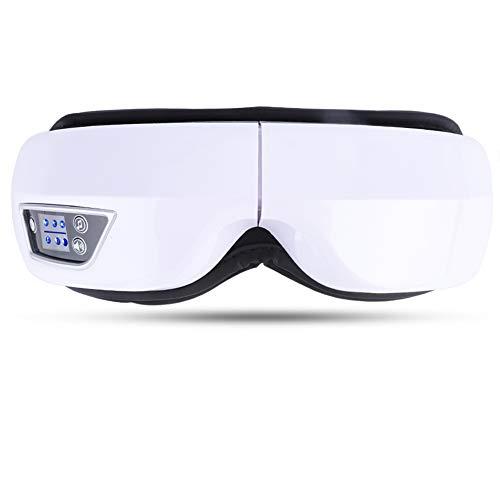 Nannday Augenmassagegerät, Hot Compress Air Pressure Vibration Music Augenpflegegerät (Vollständige Digitale Abbildung)