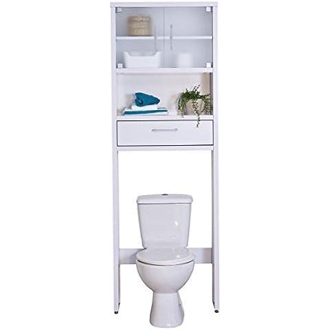 Mueble Baño Sobre Inodoro Gala 8950 blanco