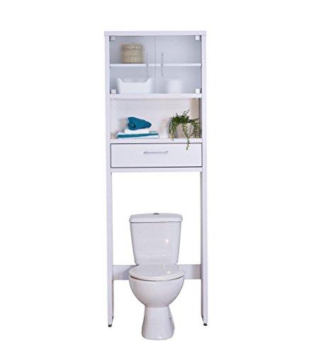 Topkit Mueble Baño sobre Inodoro Gala 8950 Blanco