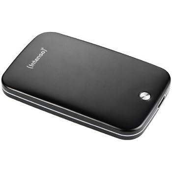 Intenso Memory Space 500GB externe Festplatte (6,4 cm (2,5 Zoll), 5400rpm, 8MB Cache, USB 3.0) Aluminium schwarz