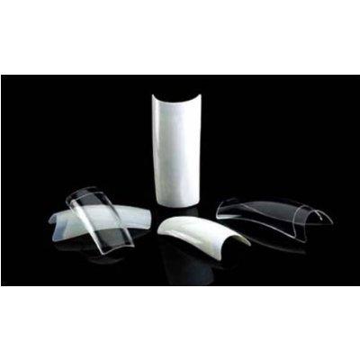 100 Capsules d'Ongles Professionel Cala Royal Salon Transparent (87110C) + Polissoir a Ongles Aviva !