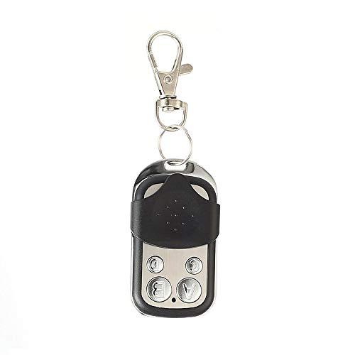 Wireless Universal Copy Fernbedienung Metall 4-Key Garagentor Duplicator schwarz und blau