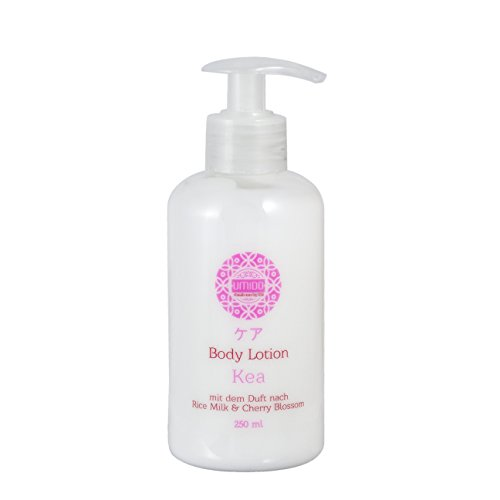 UMIDO Body-Lotion 250 ml Rice Milk & Cherry Blossom – Feuchtigkeitsmilch - Körper-Lotion - Body-Creme - Pflegelotion - 1 x 250 ml (4.)