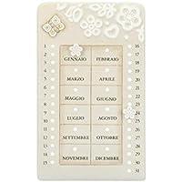 Calendario Perpetuo Thun Prestige.Calendario Perpetuo Thun Decorazioni Per Amazon It