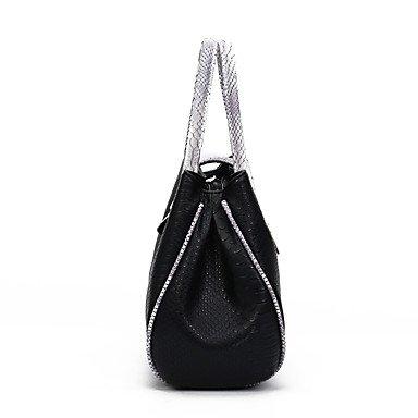 Onorevoli PU casual nuova borsa a tracolla,blu Gray