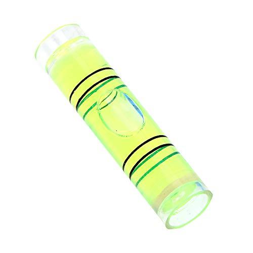 Hohe Genauigkeit, praktisch für Kompass, Fotorahmen, Acryl-Rohre, Montagewerkzeug, Wasserwaage, Messgeräte, horizontales Lineal - grün