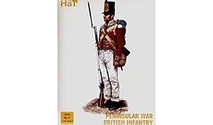 HäT 8186 - Infantería británica, Guerra peninsular