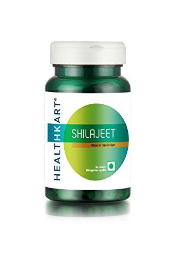 Healthkart Shilajeet / Shilajit With Polyphenols - 60 Capsules