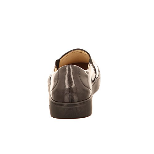 24742, Mocassins Femme, Gris (Grey), 41 EUBe Natural