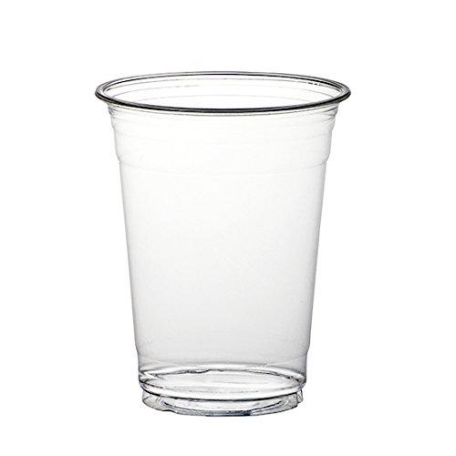 THALI Outlet Leeds®-1000x Klauenhammer, klar Kunststoff Smoothie Cups, 20oz/568ml Milchshake Kalte Einweg Getränke Becher (20 Oz-kunststoff-klar-cups)