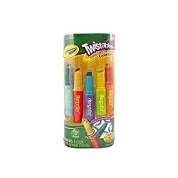 Toy Game Crayola Twistables Bathtub Color Swirl Crayons 5pk - A Rainbow of Brightly Colored Fun for Kids