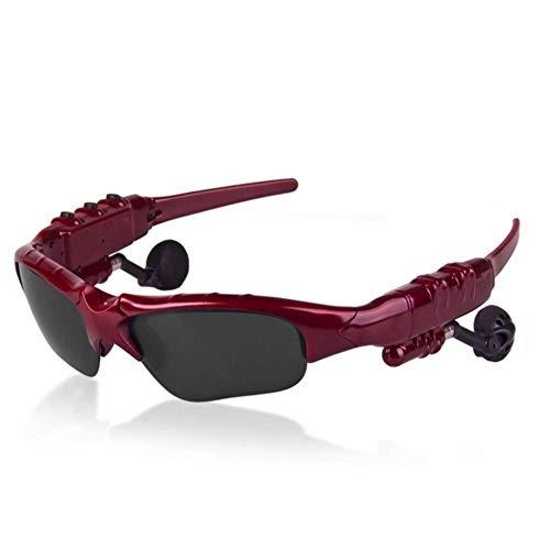 Wireless Bluetooth Sonnenbrille Stereo Kopfhörer Digital Brillen mit Musik MP3-Player Musik Kopfhörer für IOS Android Smartphones und alle Geräte mit Bluetooth,Drei Farben stehen zur Verfügung,C