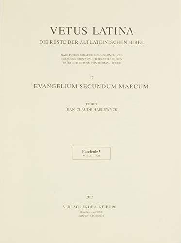 Bd.5 : Evangelium secundum Marcum