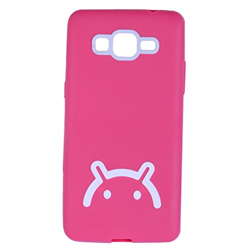 iCandy Soft TPU Back Cover For Samsung Galaxy Grand Prime G530 - Pink  available at amazon for Rs.115