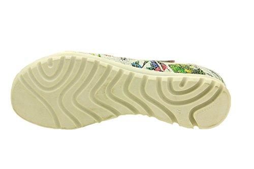 Komfort Damenlederschuh Piesanto 8527 klettverschluss schuhe herausnehmbaren einlegesohlen bequem breit wei�