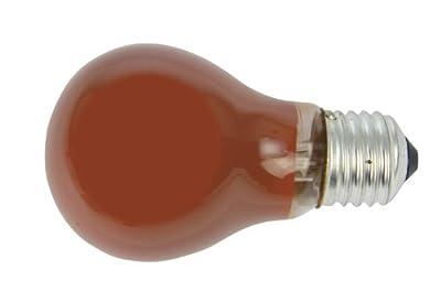 Standardglühlampe farbig, 15W, E27, rot (10580) von Heitronic auf Lampenhans.de