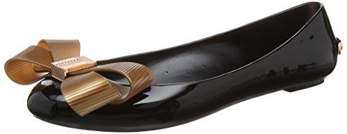 Ted Baker Women's Larmiar Closed Toe Ballet Flats, Black (Black), 4 Uk 37 Eu