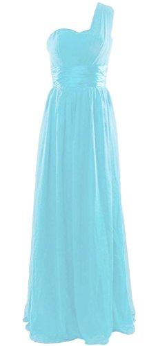 Drasawee - Robe - Asymétrique - Femme Turquoise - Türkis - Himmelblau