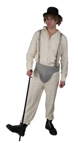 A Clockwork Orange Brother Droog Deluxe Adult Costume X-Large (Droog A Clockwork Orange Kostüm)