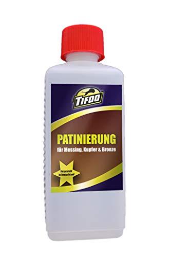 Patinierung (250 ml) - Messing/Kupfer/Bronze patinieren, Patiniermittel - Patina Farbe - Lösungen Der Leber