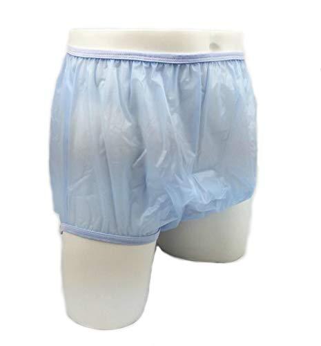 Adulti impermeabile pannoloni di plastica formato Blu incontinenza medio 32-36' vita