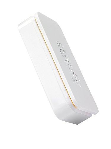 3125fxBk6XL [Bon Plan Domotique] Somfy 2401488  - IntelliTAG Détecteur de Vibration & d'Ouverture - Pack de 5 | Alarme Maison | Batterie Remplaçable | Utilisation Intérieure/Extérieure | App pour iOS/Android - Blanc