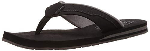 Hush Puppies Men's Vector 1-Ms Black Flip Flops Thong Sandals - 10 UK/India (44 EU)(8716984)