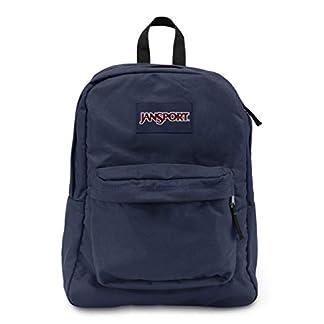 Jansport Super Break – 100% Polyester Back Pack Hombres Bolsas