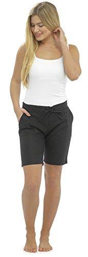 Lora Dora Womens Linen Shorts With Elasticated Waist Holiday Beach Hot Pants Ladies Size UK 10-18 Test