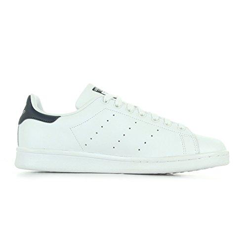 adidas Stan Smith, Sneaker Uomo Bianco (Running White/Running White/New Navy)