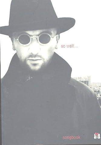 Westernhagen : SO WEIT... best of Westernhagen -- Songbook für