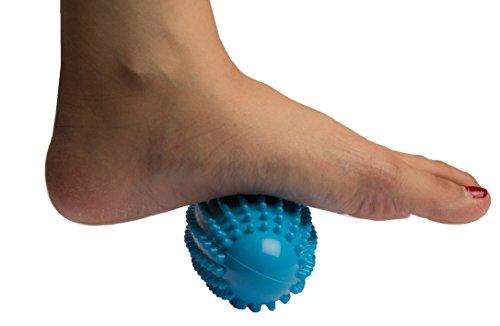 Bodytec Wellbeing Spiky - Rodillo terapéutico para pies y cuerpo