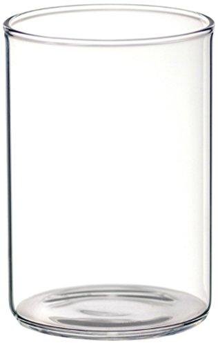 BOROSIL Vasos | Conjunto de 6 | Ultra claro | Apto para lavavajillas | Adecuado para microondas | VISION CLASSIC SERIES
