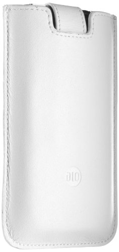 Philips DLM 63069 Slim Sleeve Ledertasche für Apple iPhone weiss