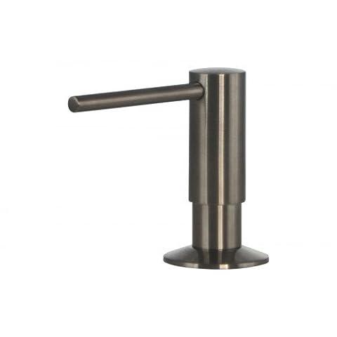 Soap Dispenser Stainless steel Mizzo Govaro | 5 Year Warranty | Washing Up Liquid Soap Dispenser Soap Dispenser Kitchen sink Accessories | Dispenser 300 ml |