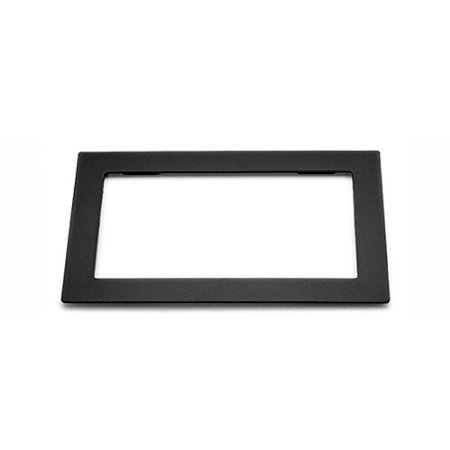 ZWNAV Universal Double DIN Installation Slot Metal Frame Car Stereo Radio Mounting Frame 2DIN Stereo Interface Dash CD Trim Installation Kit
