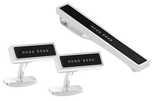 Boss 50403078 Geschenkset Krawattenklammer und Manschettenknöpfe