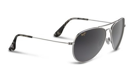 Maui Jim Sunglasses - Mavericks / Frame: Silver Lens: Neutral Grey by Maui Jim