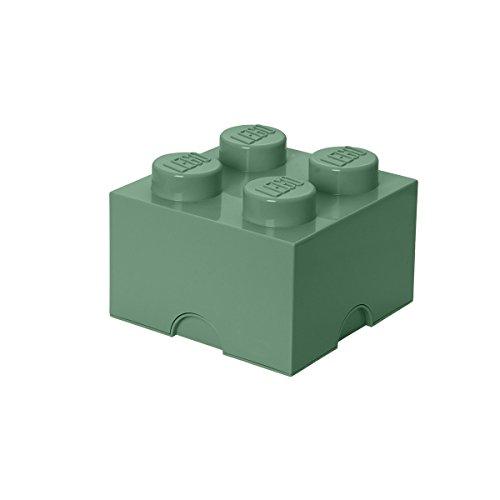 LEGO 4003 Speicherstein 4er, Plastik, Grün, 25 x 25,2 cm