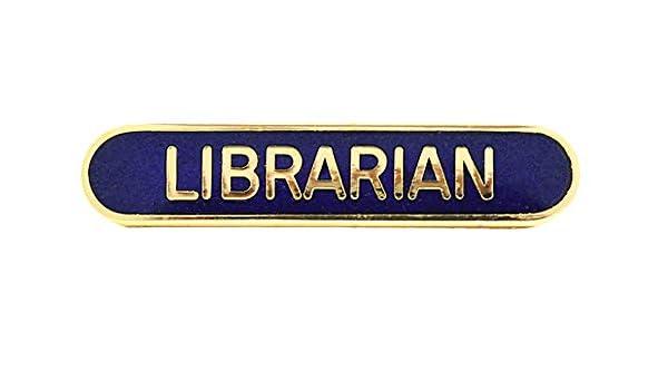 Capricornone Librarian School Bar Badge Handmade Vitreous Enamel