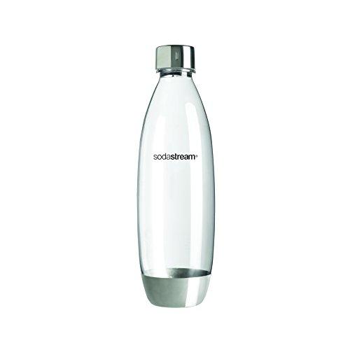 SodaStream 1741190490 Flasche Fuse aus bruchfestem, Kunststoff, edelstahl, 8.6 x 8.6 x 28.1 cm