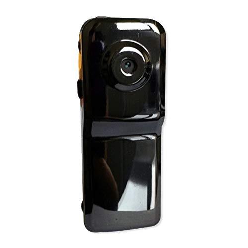 Glänzend schwarz Mini-Kamera Spracherkennung