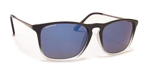 Coyote Eyewear Street und Sport polarisierte Sonnenbrille, unisex, M.Black Fade
