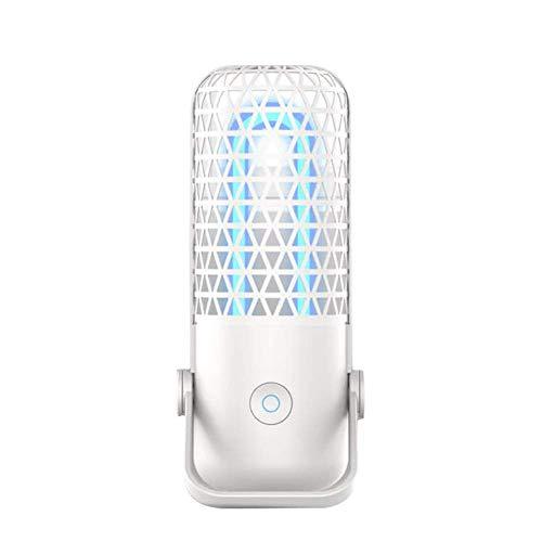 Luz de esterilización germicida UV Bombilla de la lámpara de ozono Base Plegable de luz Ultravioleta...