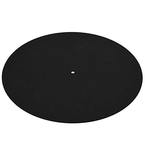 Disque Vinyle avec Papier cartonné et Sac en PE, Disque Vinyle Antistatique pour Platine Vinyle Tapis Mat Doux et Mat Tapis Mat avec revêtement Anti-Chocs