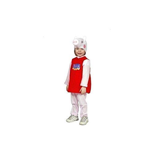 Comogiochi 34140 costume peppa pig, 2-3 anni